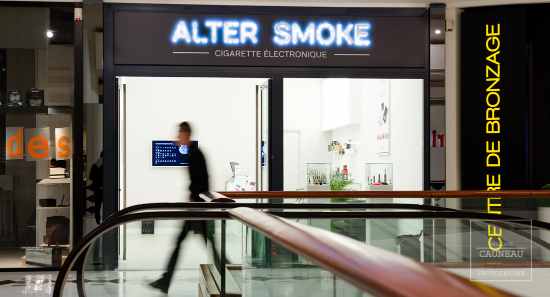 Alter Smoke - Centre commercial Atlantis St Herblain