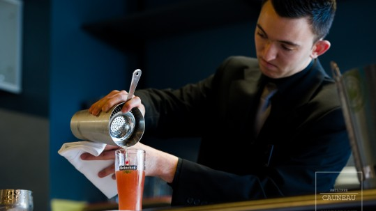 Concours de Bierologie Heineken - Elaboration d'un cocktail