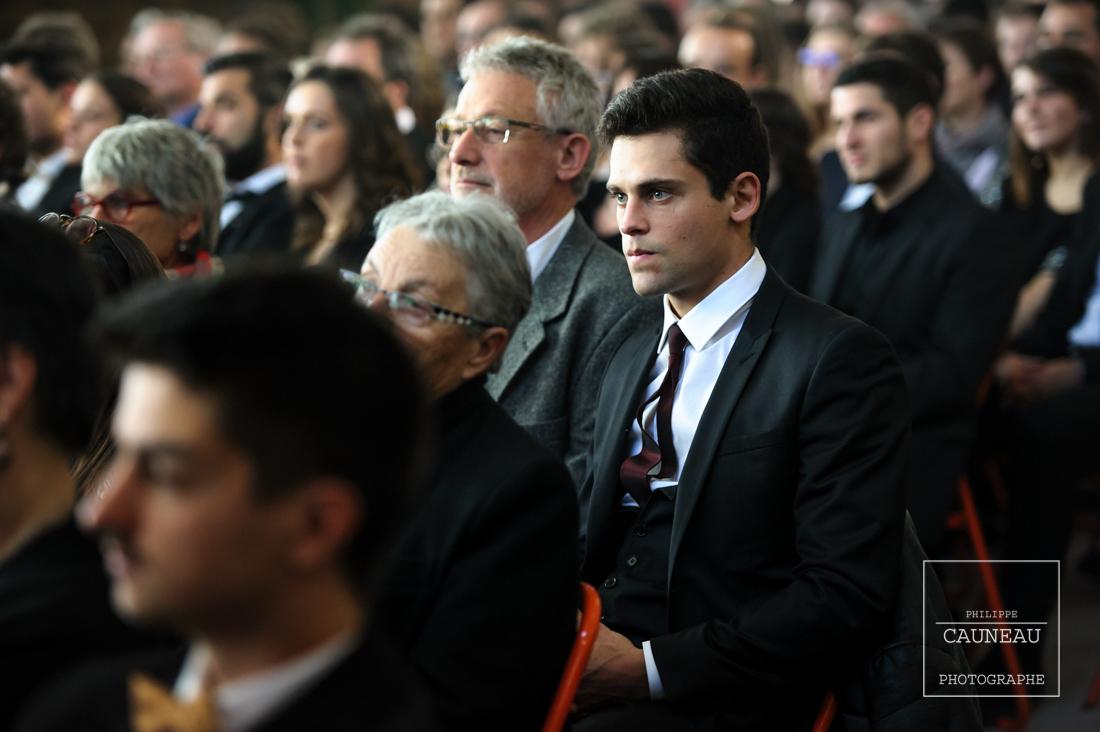 Remise des diplômes 2017 - Ecole du Bois - Nantes