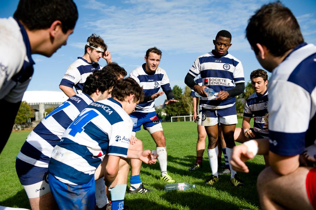 Match de rugby - Alumnis - Etudiants - Audencia