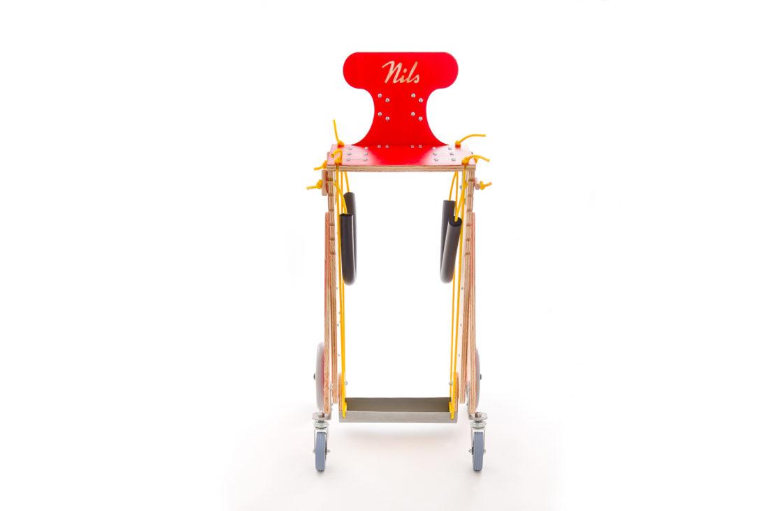 Chariot pour chien handicapé - Les Pas Enchantes