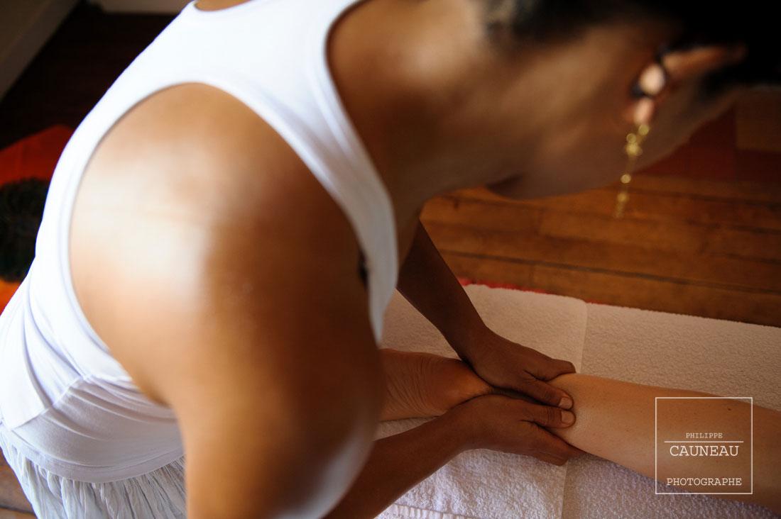 Reportage massage Ayurveda